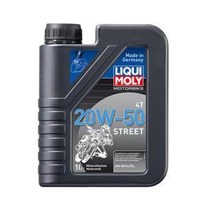 在庫あり LIQUI MOLY リキモリ 4サイクルオイル ストリート 4T 20W-50 HD Street webike