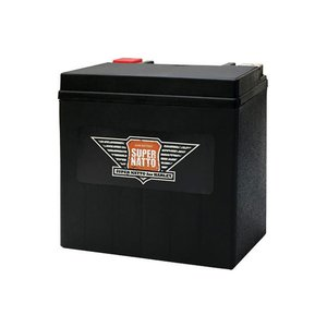 在庫あり SUPER NATTO スーパーナット ハーレー専用AGMバッテリースーパーナット HARLEY-DAVIDSON XL1200C カスタム|webike