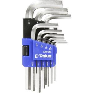 E-Value:イーバリュー E-Value 六角棒レンチセット ミリ ELHW13NLの画像