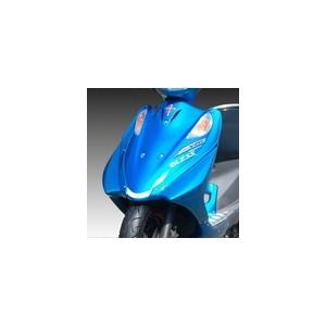 ADDRESSV125 アドレス ADDRESSV125 アドレス G スクーター外装 BLESS CREATION ブレスクリエイション サイドカウル カラー:キャンディソノマレッドNo.2