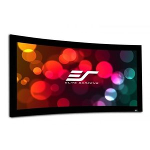 ELITE エリートCurve235-103W 固定スクリーン リュネット 103インチ(2.35:1) シネホワイト素材|webjapan