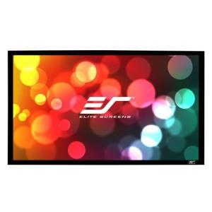 ELITE エリートER92WH1 固定スクリーン セイブルフレーム 92インチ(16:9) シネホワイト素材|webjapan