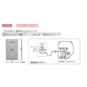 KIKUCHI (キクチ) GSW-1 壁埋め込みスイッチ|webjapan