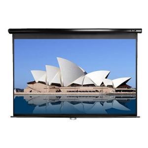 ELITE(エリート) M135UWH2 手動巻上げスクリーン 135インチ(16:9) マックスホワイト素材 ブラックケース|webjapan