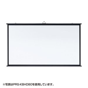 SANWA SAPPLY 60インチ(16:9)壁掛け式スクリーン PRS-KBHD60|webjapan
