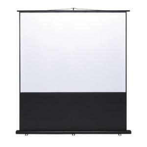 SANWA SAPPLY  100インチ(4:3)床置自立式モバイルスクリーン PRS-Y100K|webjapan