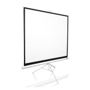 ELITE エリートT113NWS1 三脚式ポータブルスクリーン トリポッド 113インチ(1:1) マックスホワイト素材 ホワイトケース|webjapan