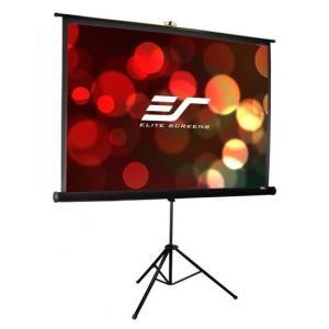 ELITE エリートT119UWS1-Pro 三脚式ポータブルスクリーン トリポッドPro 119インチ(1:1)|webjapan
