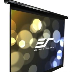 ELITE エリートVMAX100UWV2 電動巻上げスクリーン ヴィマックス2  100インチ(4:3) ブラックケース|webjapan