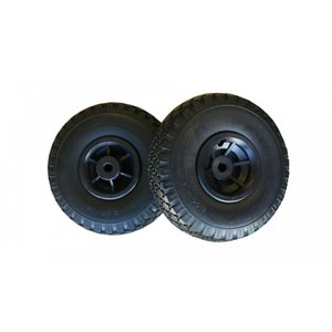 26cmノーパンクタイヤ AFドーリー100S用 タイヤ2本 ドーリー用タイヤ