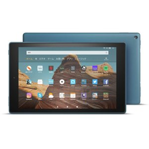 【Newモデル】Fire HD 10 タブレット ブルー (10インチHDディスプレイ) 32GB★