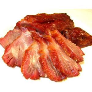 ☆大正創業の味をお試し用1/3カットで☆お試し用カット炭焼き叉焼(チャーシュー/豚カタ肉使用・通常品の1/3カット相当)|webshop-fukuyoken