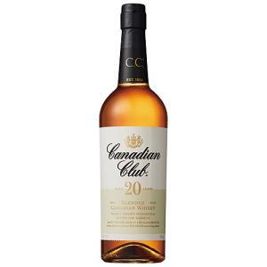 業務店御用達 誕生日 ウイスキー カナディアンクラブ 20年 正規品:750ml 洋酒 Whisky...