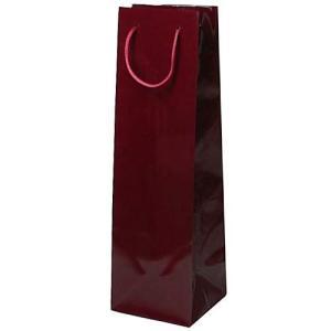 ギフトラッピング:ワイン紙袋 (ワイン色) プレゼント用 記念品用|webshop-kameya