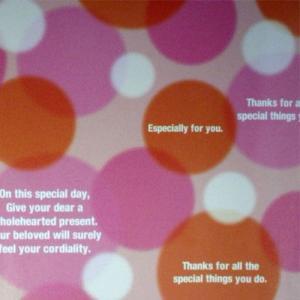 ギフトラッピング:ピンク柄 プレゼント用 記念品用 箱なし商品の場合は箱代加算を了承|webshop-kameya