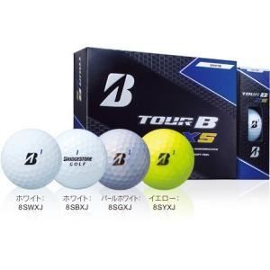 ゴルフボール ブリヂストン TOUR B XS パールホワイ...