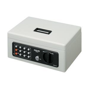 手提げ金庫(テンキー付き) B5 ライトグレー|webshop-sakura