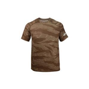 TRU-SPEC MEN'S DRY-FIT 半袖Tシャツ TIGER STRIPE SAND webshopashura
