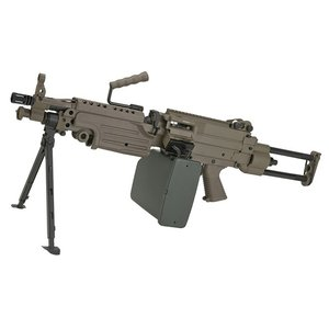 A&K M249 PARA フルメタル電動ガン DE【180日間安心保証つき】|webshopashura