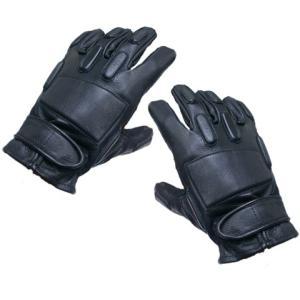 KA-Glove-01-F-L SWAT Leather Gloves-Full Finger (L) webshopashura