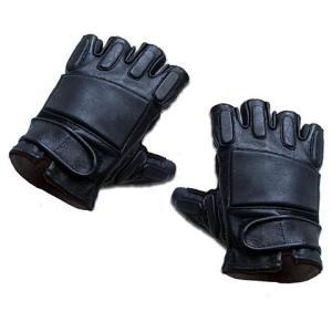 KA-Glove-01-H-XL SWAT Leather Gloves-Half Finger (XL) webshopashura