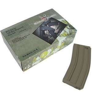 【50%OFF!売り切りセール!】KA-MAG-16-X-DE M16 120 rounds magazines Box Set (10pcs) - DE|webshopashura