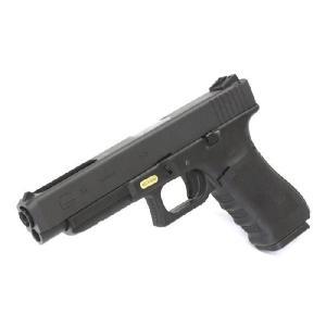【ABS BB弾サービス!】We-Tech Glock34 Gen.4 ガスブローバック BK|webshopashura