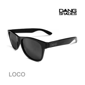 dangshades サングラス LOCO Gloss Black X Black vidg0009...