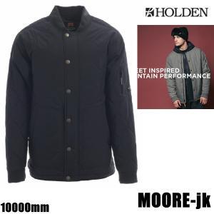 ホールデン ウェア ジャケット 17-18 MOORE -jk  /BLACK  (2017-2018 17-18)HOLDEN ウエア スノーボード ウェア メンズ|websports