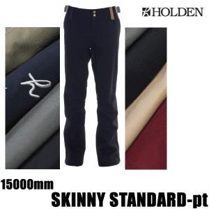 ホールデン ウェア パンツ 17-18 SKINNY STANDARD -pt  /BLACK  スリムパンツ (2017-2018 17-18)HOLDEN ウエア スノーボード ウェア メンズ|websports
