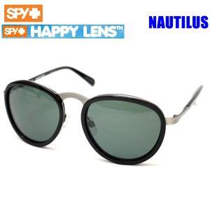 spy サングラス 偏光レンズ NAUTILUS グロスブラック ・ハッピーグレーグリーン HAPPYレンズ ノーチラス 673243038863|websports