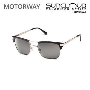 サンクラウド サングラス MOTORWAY / MATTE BLACK / GRAY 偏光サングラス suncloud サングラス|websports