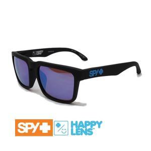spy サングラス アジアンフィット メンズ HELM AF SOFT MATTE BLACK - HAPPY BRONZE W/ BLUE SPECTRA HAPPYレンズ  ヘルム|websports