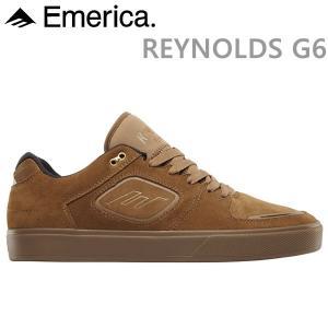 エメリカ スニーカー REYNOLDS G6/BROWN/GUM スケボーシューズ,スケートボード シューズ,emerica スニーカー|websports