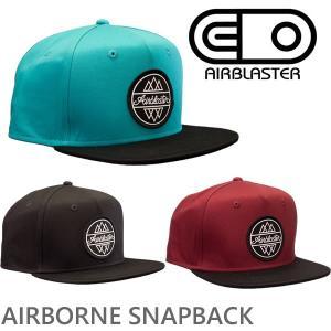 エアブラスター キャップ スナップバック AIRBORNE SNAPBACK airblaster 17-18 スノーボード 帽子【C1】|websports