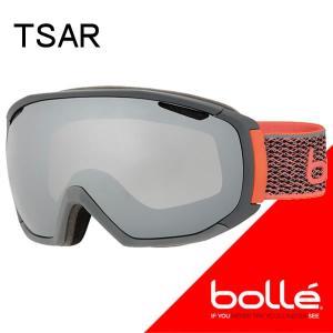 bolle(ボレー) 2018  TSAR(ツァーリー) マットグレー&ネオンオレンジ ブラッククローム(21650) 17-18 スノーゴーグル【C1】|websports