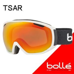 bolle(ボレー) 2018  TSAR(ツァーリー)マットホワイト&グレー サンライズ (21646) 17-18 スノーゴーグル【C1】|websports