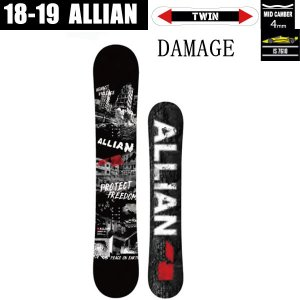 アライアン,スノーボード,板,18-19 スノボ,2018-2019,allian