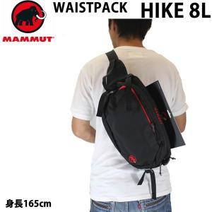 マムート リュック  ボディバッグ WAISTPACK HIKE 8L /2520-00520 ブラ...