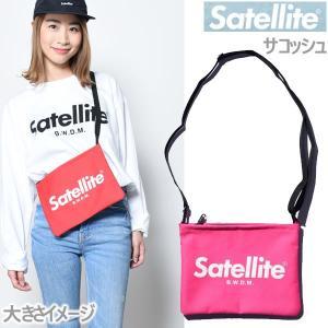 サテライト サコッシュ ベーシック/ピンク Satellite ショルダーバッグ バッグ