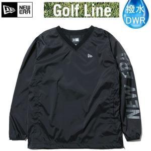 891de45b72d1a ニューエラ ゴルフ ウィンド プルオーバー ジャケット ブラック × チャコール(11900254)日本正規品 ゴルフウェア newera ゴルフ