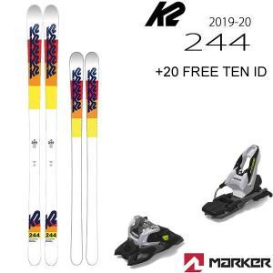 K2 スキー 2020 モーグルスキー 244 トゥーフォーフォー 19-20 ケーツースキー板  ...