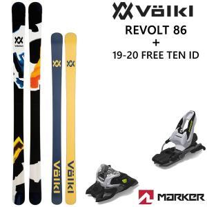 VOLKL スキー 2020 フォルクル スキー板 19-20  REVOLT 86 (リヴォルト ...