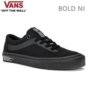 バンズ スニーカー VANS BOLD NI ヴァンズ ボールドNI/BLK/WHT スケートシューズ メンズスニーカー|websports