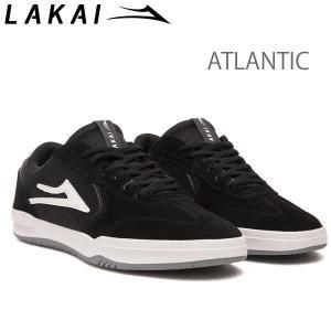 ラカイ スニーカー アトランティック  LAKAI   ATLANTIC  /BLACK LIGHT GREY SUEDE スケシュー スケートボードシューズ【C1】|websports