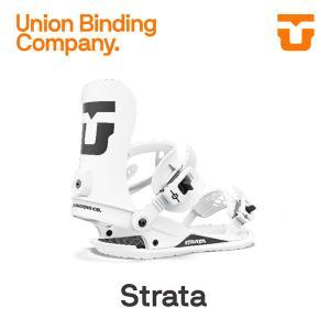 ユニオン ビンディング UNION STRATA ストラータ WHITE 日本正規品(21-22 2...