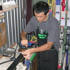 スキー購入同時チューン(プレチューンナップ・初期チューンナップ) websports