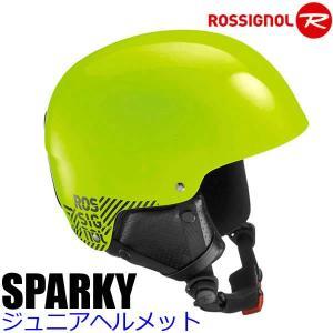 ロシニョール 子供用ヘルメット ジュニア 2017 SPARKY ネオンイエロー 16-17 ROSSIGNOL スキー&スノーボード ヘルメット 子供用|websports