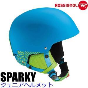 ロシニョール 子供用ヘルメット ジュニア 2017 SPARKY ブルー 16-17 ROSSIGNOL スキー&スノーボード ヘルメット 子供用|websports