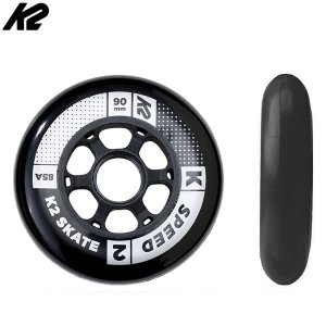 K2 インライン  スペアウィール    SPEED 90mm 85A WHEEL 4PACK  I1704019010  4輪仕様インライン片足分  ケーツー|websports